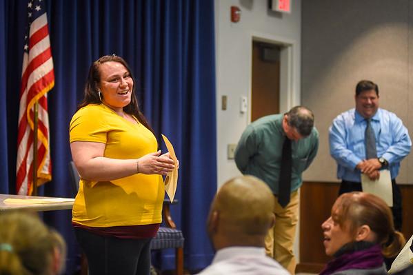 Latest graduates of the Salem Probation Department's Job Club