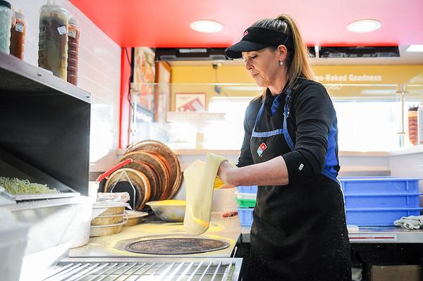 Jeannie Cashman of the Domino's Pizza in Danvers