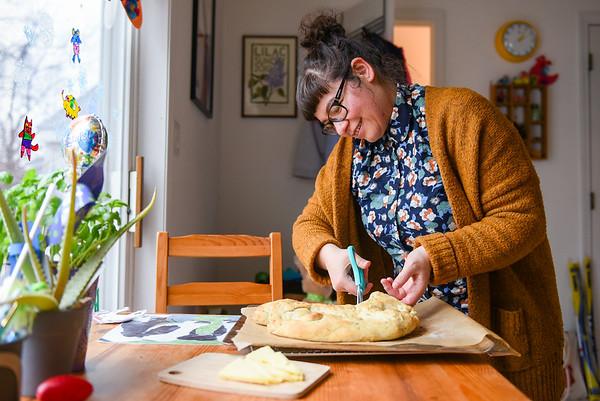 Cookbook Club member Eleni Castro