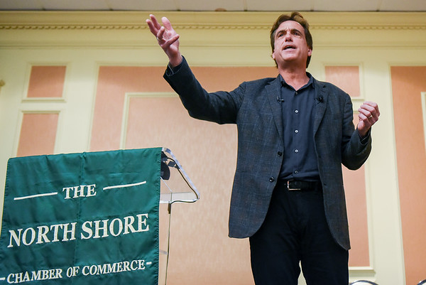 Business gatherings and Davios talk — North Shore Business Expo