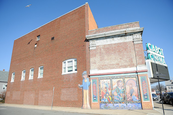Cabot Cinema mural project