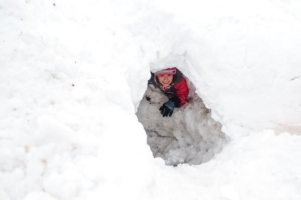 Snow Cleanup in Salem