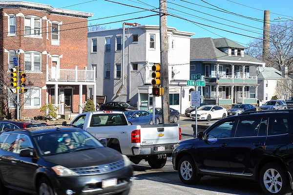 National Grid gas work along Peabody streets