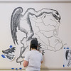 Hawthorne Hotel's Gerrymander Mural by Marblehead resident Alicia Irick