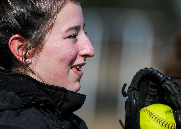 Bishop Fenwick HS softball practice