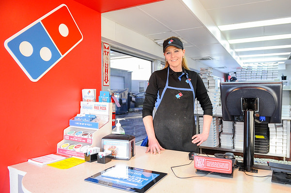 Jeannie Cashman of the Domino's Pizza in Danvers