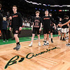 Beverly High boys basketball in Division 2 state semifinals at TD Garden in Boston