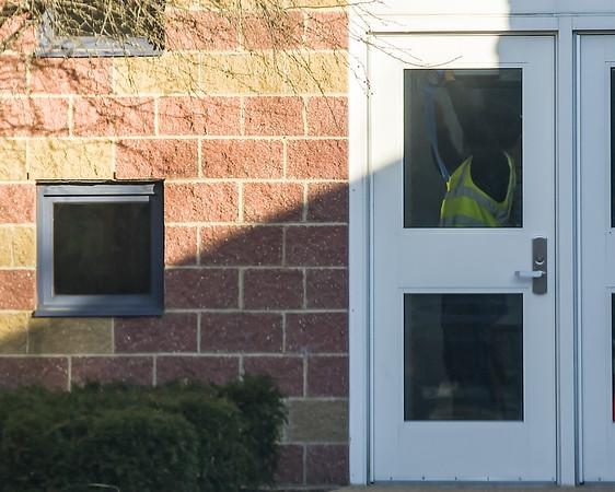 Windows at Ayers Ryal Side School