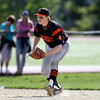 DAVID LE/Staff photo. Beverly sophomore third baseman Spencer Brown. 5/20/16.