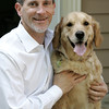 KEN YUSZKUS/Staff photo.     Attorney Jeremy Cohen is a Salem resident with a Beverly law practice focuses solely on representing pets in dog bite cases, vet malpractice and pet custody cases. His unusual law firm is called Boston Dog Lawyers. His dog, Maisey, is a three-year-old Golden Retriever.     05/26/16