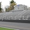 KEN YUSZKUS/Staff photo.     The Danvers High Deering Stadium nears completion.     05/13/16