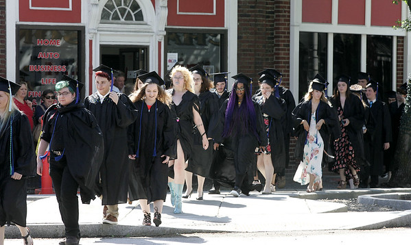 The commencement for Montserrat College of Art