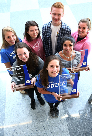 Danvers High students scored big at DECA finals in California