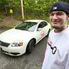 Danvers High School senior Jacob Walker was the winner of a car