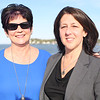 HADLEY GREEN/ Staff photo<br /> From left, Maggie Gibson of Salem and Karen Sheppard of Marblehead attend the Salem Chamber of Commerce's annual After Hours Plus event on the Salem Ferry.  5/16/17