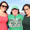 HADLEY GREEN/ Staff photo<br /> From left, Jen Keyes of Beverly, Joan Brennan of Salem, and Maria Narvaez of Lynn stand on the deck of the Salem Ferry during the Salem Chamber of Commerce's event celebrating the ferry's opening. 5/16/17