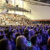 HADLEY GREEN/ Staff photo<br /> The crowd listens to John Legend at the Salem State Series event at Salem State's Rockett Arena on Tuesday, May 2nd, 2017.