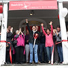 HADLEY GREEN/ Staff photo<br /> Naomi Dreeben, chair of the Swampscott Board of Selectmen, and members of Reach Arts celebrated at the ribbon cutting ceremony for the new cultural arts center on Burrill Street in Swampscott. 5/6/17