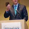 Governor Charlie Baker speaks at the North Shore Tech Council breakfast