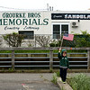 Staff photo/ HADLEY GREEN<br /> Jack Schuster, 5, of Salem, waves a flag at the beginning of the Memorial Day parade. <br /> <br /> 05/28/2018