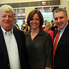 HADLEY GREEN/Staff photo<br /> From left, Ed Rogers of Topsfield, Cathy Lawson of Beverly, and Charlie Adams of Beverly attend the Gourmet Gala, a fundraiser for the North Shore Cancer Walk.<br /> <br /> 05/04/2018