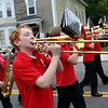 Staff photo/ HADLEY GREEN<br /> The Salem High School marching band plays at the Salem Memorial Day parade.<br /> <br /> 05/28/2018