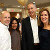 HADLEY GREEN/Staff photo<br /> From left, Dana and Lisa Fraser of Swampscott, and Judy and Michael Bouchard of Marblehead attend the Gourmet Gala, a fundraiser for the North Shore Cancer Walk.<br /> <br /> 05/04/2018