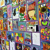 HADLEY GREEN/Staff photo<br /> Artwork from students was on display during the Gloucester School Arts Festival at the Cape Ann Museum. <br /> <br /> 05/12/2018