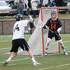 HADLEY GREEN/Staff photo<br /> at the Marblehead v. Newton North boys lacrosse game at Marblehead High School<br /> <br /> 05/12/2018