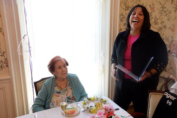 Tina Lefthes turns 100