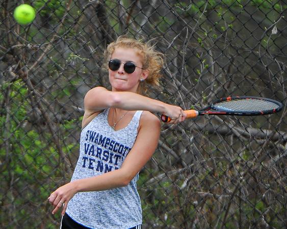 Gloucester vs Swampscott girls tennis