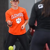 Masconomet varsity softball practice