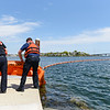 Fire/harbormaster training exercise in Danvers River