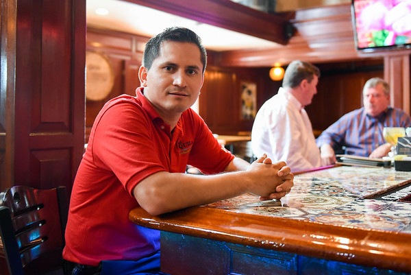 Owner, general manager of Casa Tequila Carlo Gomez