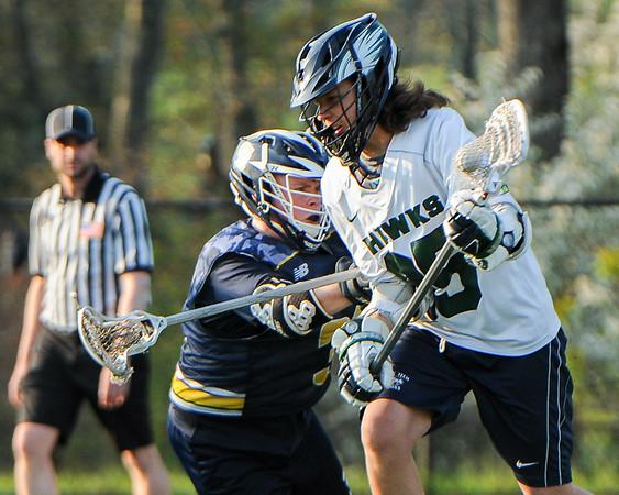 Essex Tech boys varsity lacrosse game vs. Greater Lowell