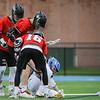 Marblehead at Danvers boys varsity lacrosse game