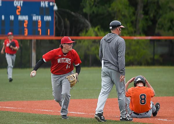 Beverly at Salem varsity baseball at Salem State
