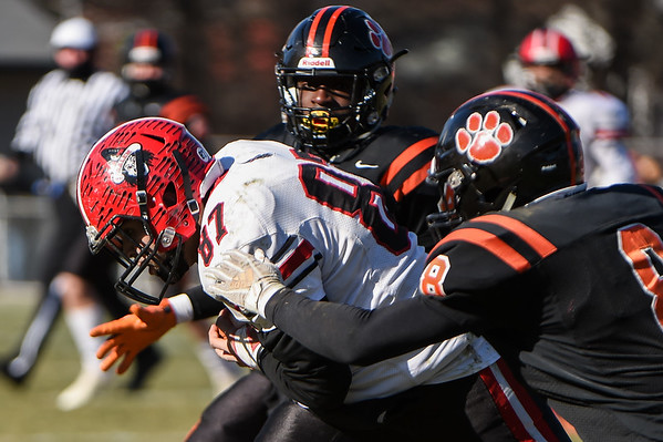 Beverly vs.Salem Thanksgiving football in the team's 120th game against one another