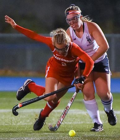 Masconomet field hockey in Division 1 state semifinals vs. Somerset-Berkley in Braintree