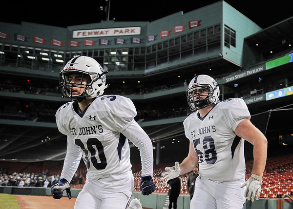 St. John's Prep football game vs. Xaverian at Fenway Park