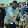 Essex Tech basketball practice