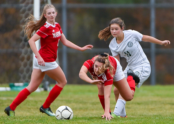 Masconomet vs Billerica girls soccer