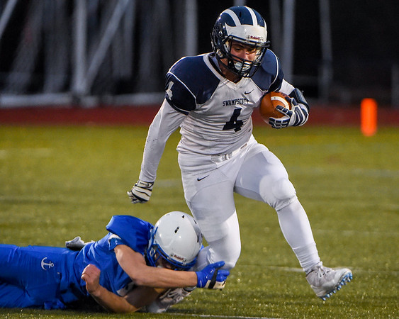 Swampscott football in Division 5 state semifinals vs. Scituate at Hanover HS