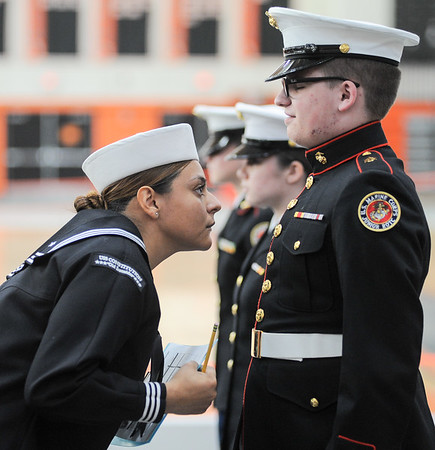 Jr. ROTC competition at Beverly High for SN, GDT
