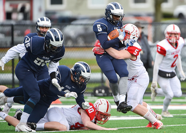 Amesbury vs. Swampscott football in the Division 5 North Final