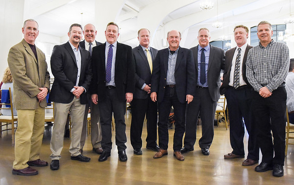 Danvers Blue and White Hall of Fame Ceremony, with new members being inducted