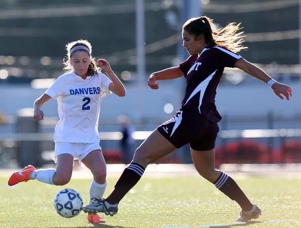 Danvers vs Belmont D2 North Semifinal Girls Soccer