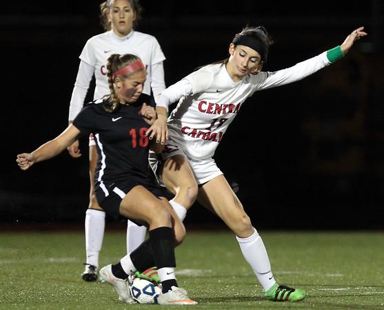 Central Catholic Girls Soccer vs Whitman-Hanson D1 State Semifinal