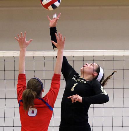 Bishop Fenwick vs Burlington D2 North Girls Volleyball Final