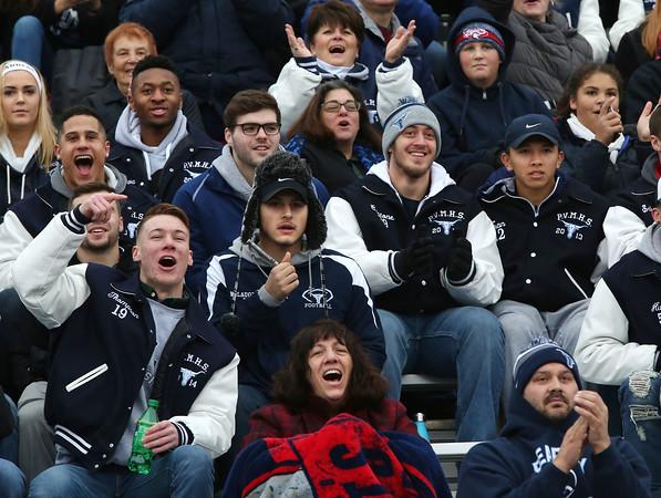 Saugus at Peabody Thanksgiving football game